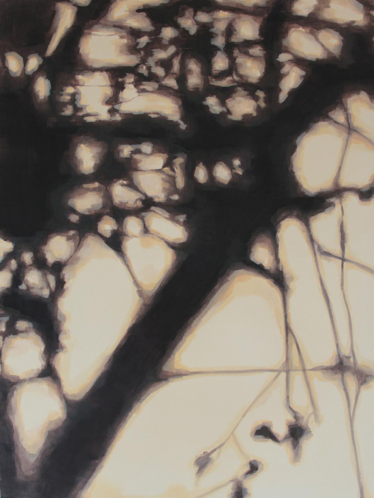 Sin título III. Mixta sobre lienzo, 130 x 97 cm